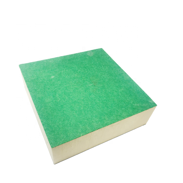 High density rigid foam closed cell polyisocyanurate board polyurethane insulation board PU panels