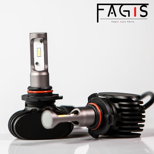 Fagis S1 H1 H3 H4 H7 H8 H11 H13 9005 9006 COB LED Headlight 8000LM auto bulb car lamp