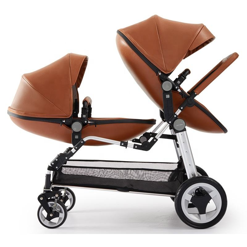 China manufacturer hot sale cheap price baby twin double strollers lightweight