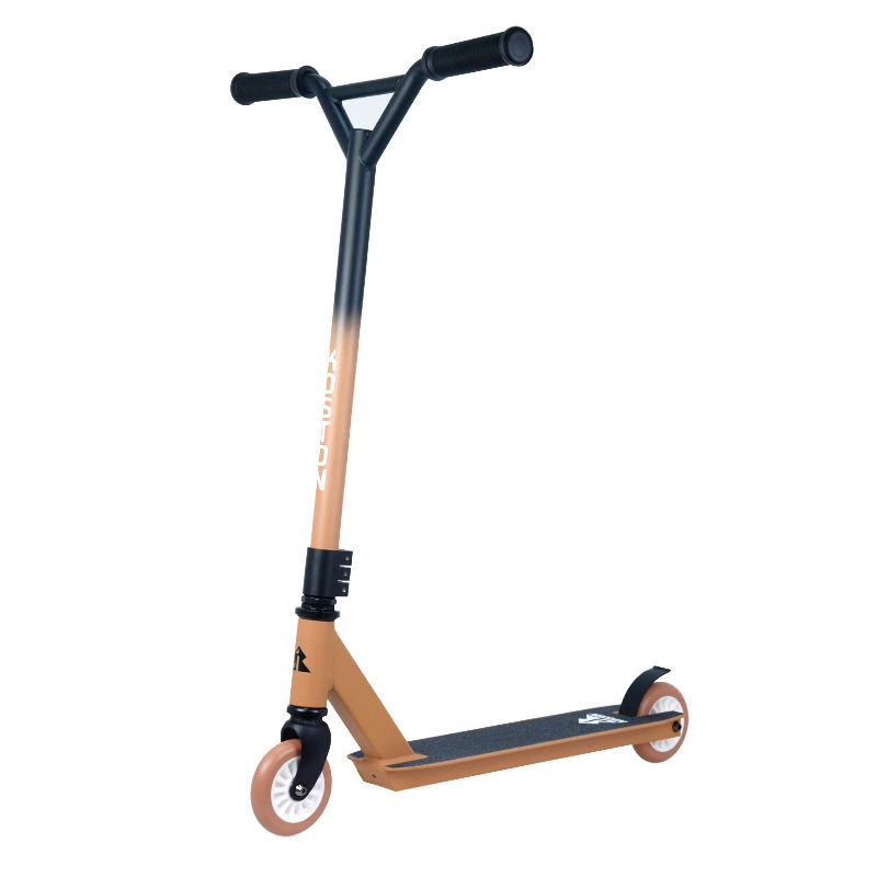 Entry level Aluminum trick pro Stunt Scooter with 100mm wheels for teens and adults