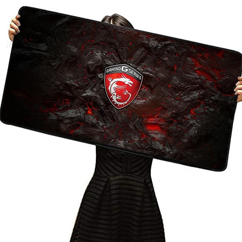 Afdrukken Msi Unieke Big Size Laptop Pc Computer Mousepad Counter Strike Custom Muismat