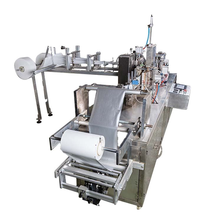 High Speed Automatic Single Wet Tissue Wipes Packaging Machine Wet Wipes Making Machine