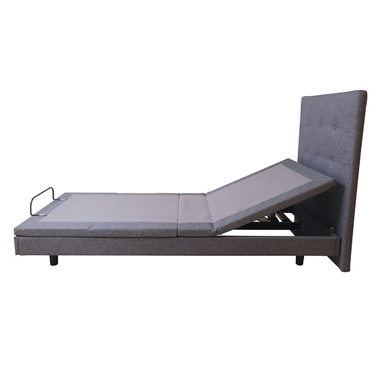 Luxury High Quality Metal Electric Adjustable Foldable Bed Bedroom Furniture