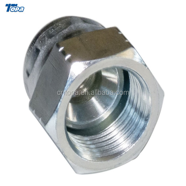 Metric Male Thread with Captive Seal Hydraulic Adapter 1JB-WD