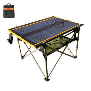 Smart Drink tea camping solar table outdoor camping table