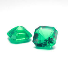 Starsgem Wholesale Fancy Cut  Asscher Emerald HD Emerald gemstone