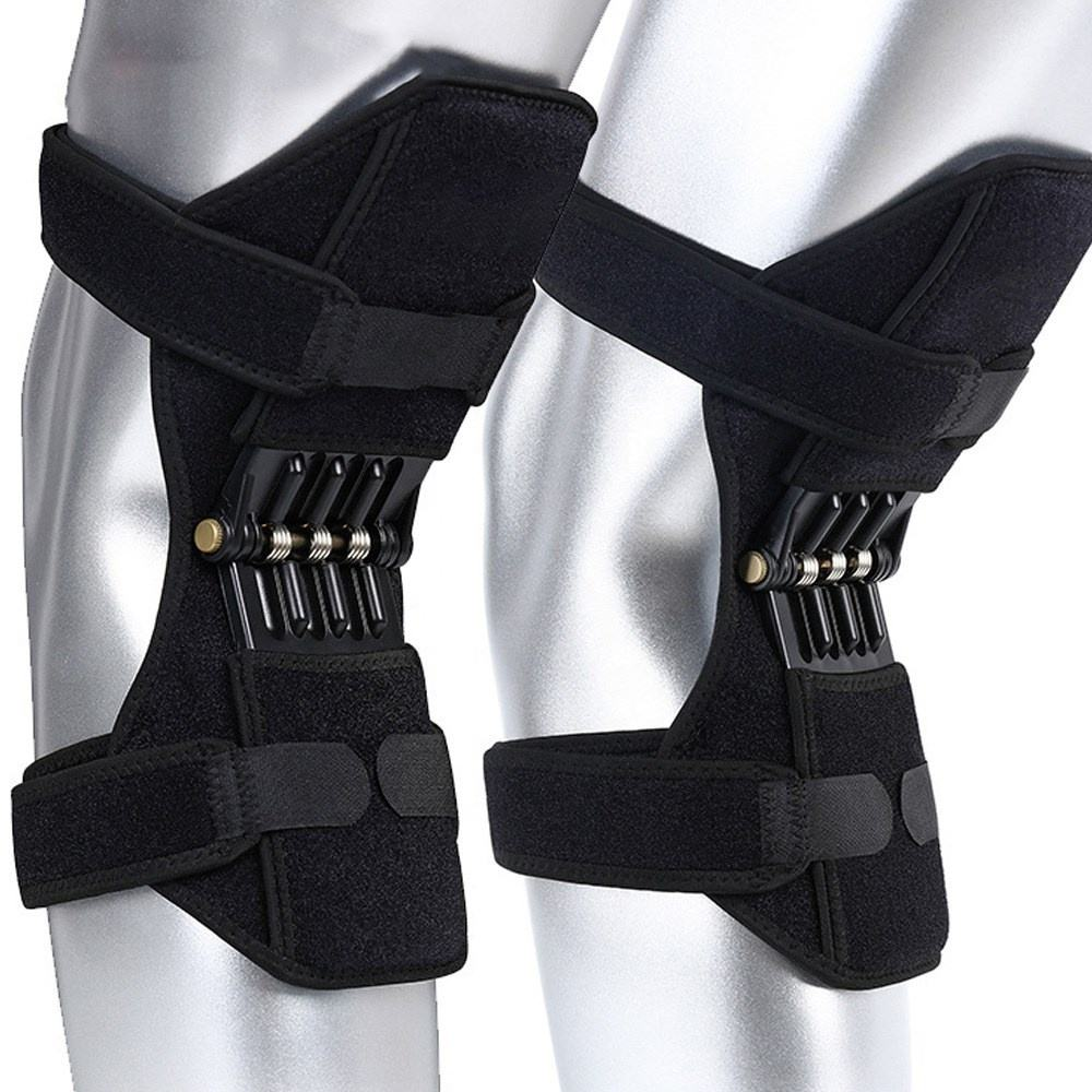 Custom sports knee booster pads fixed support protect knee joints heat professional knee pads for work