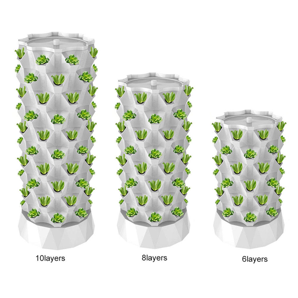 Garden aeroponics system hydroponic vertical tower for apartment