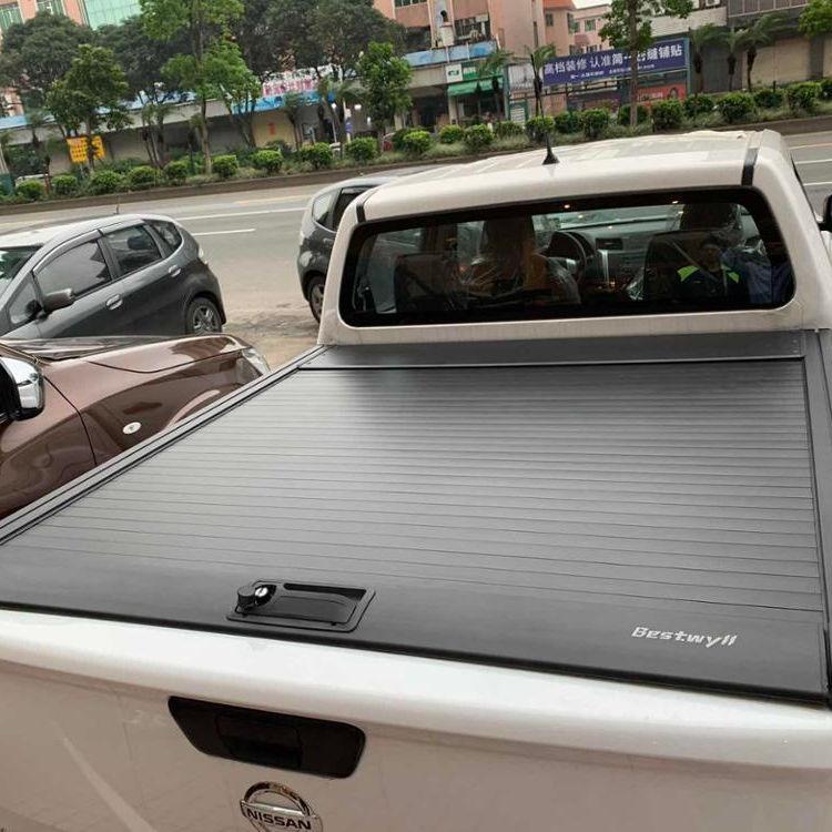 Tri Fold Flip Bed Cover Hard Folding Hardtop Pickup Toyota Hilux Revo 2015