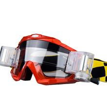 HUBO sports Roll off design anti scratch mx motocross goggles gafas wholesale motorcycle glasses