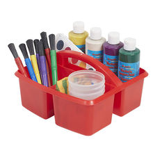 Stylish storage Colorful Sturdy and Easy to Clean Small Utility Caddy Plastic Cleaning Caddy Carrying tools