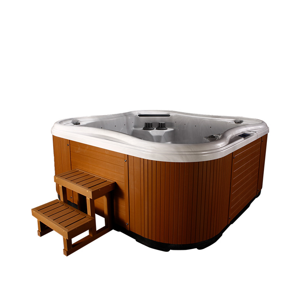 2020 Whirlpool massage jacuzziOutdoor tube chaud <span class=keywords><strong>spa</strong></span> pour 5 personnes avec oreiller et <span class=keywords><strong>jets</strong></span> de massage