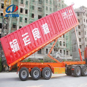 Heavy load 3 axles tipper semi trailer|Rear dump trailer manufacturer