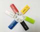 Body Usb Flash Drive Custom Logo Plastic Body Gyro Usb 180 Degree Twisting Automatic Open 2.0 3.0 Flash Drive