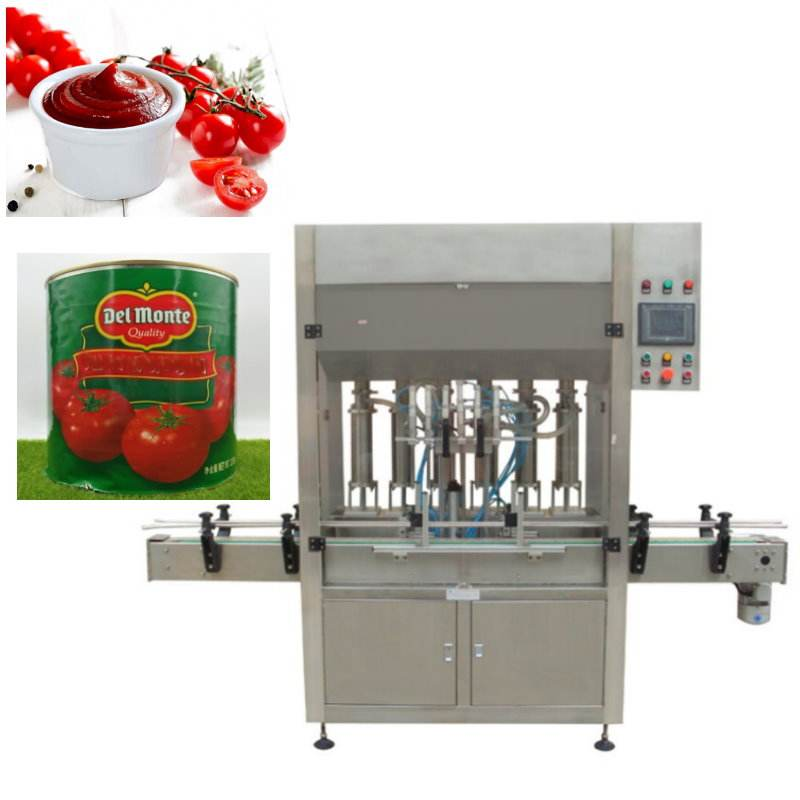 Honey Tomato Paste filling sealing Packing Machine