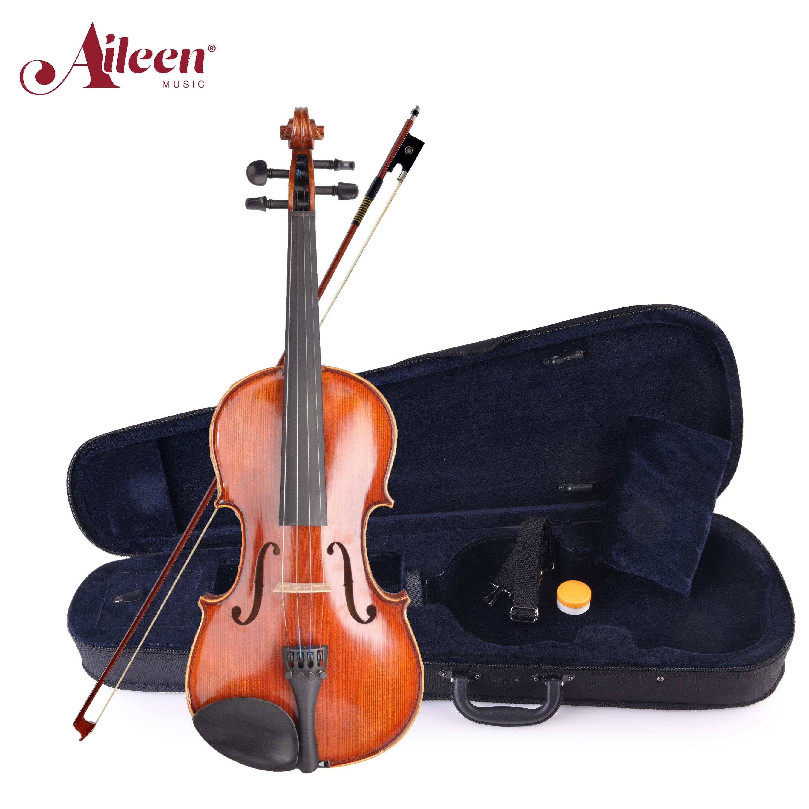 AileenMusic good musical instruments nice flamed violin (VM125A)