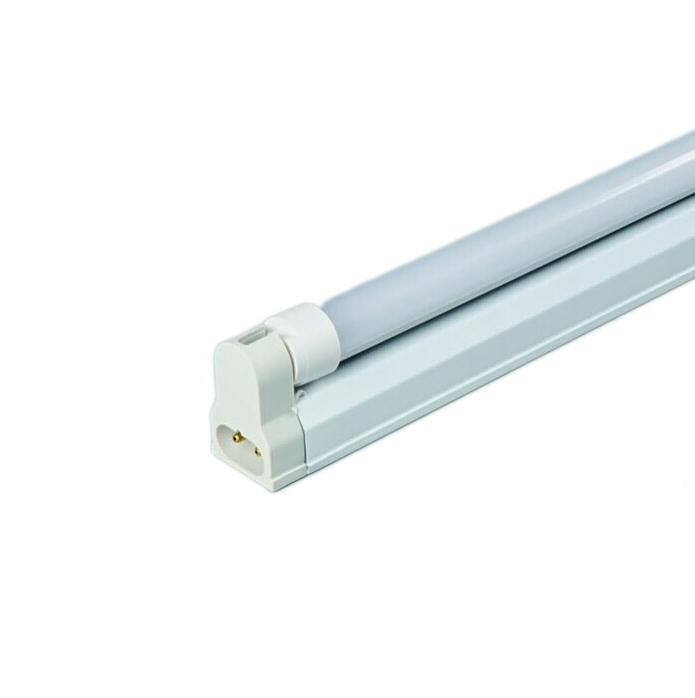 Huazhong energy saving T8 led tube light with fixture with dual bracket 1200mm 4ft for home office factory