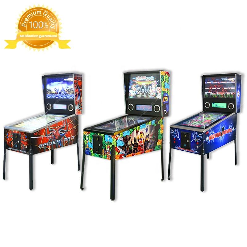 Onemore 170 Coin Operated Pinball Game Machine For Sale, Arcade Pinball Virtual, Virtual Pinball Machine For Sale