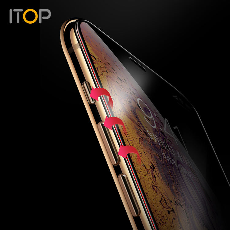 Ceramics Protective Glass for iPhone 6 6s 7 8 Plus XR X XS Max 11 Pro Max Full Cover Screen Protector Bendable Nano Glass Film