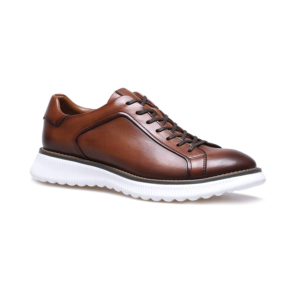 Wholesale Original Hand Made Cow Men Leather Casual Shoes For Men