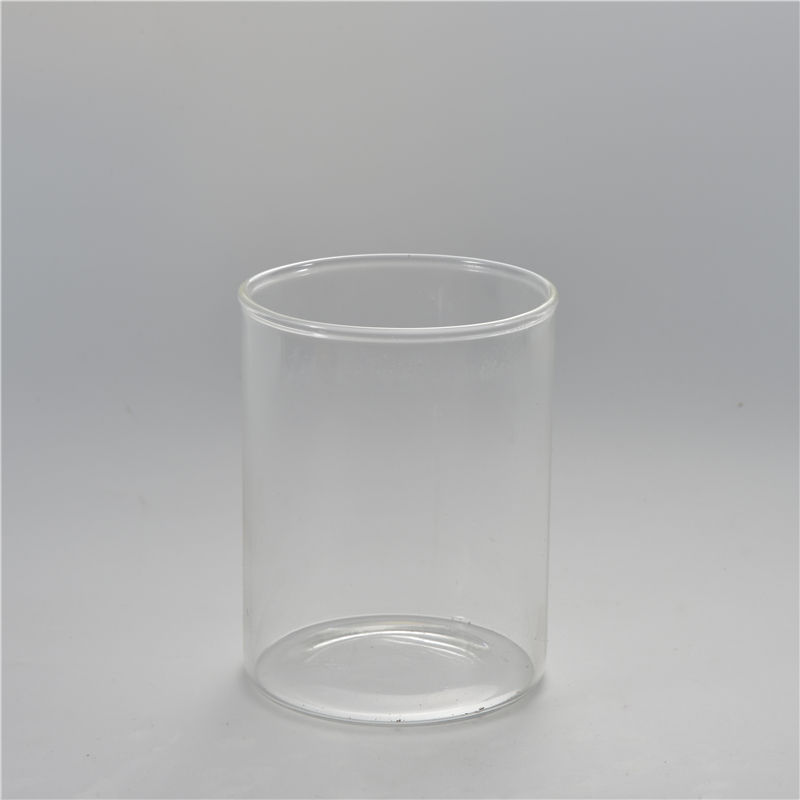 Manufactory Wholesale Candlestick Holders Glass Soy Candle Jar Candle Tealight