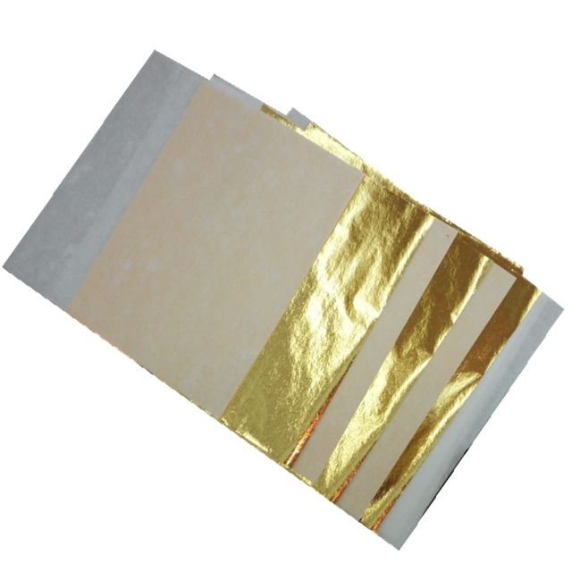 Since 1996 manufacturer stamping foil taiwan gold leaf turkey foil for gilding and decoration.