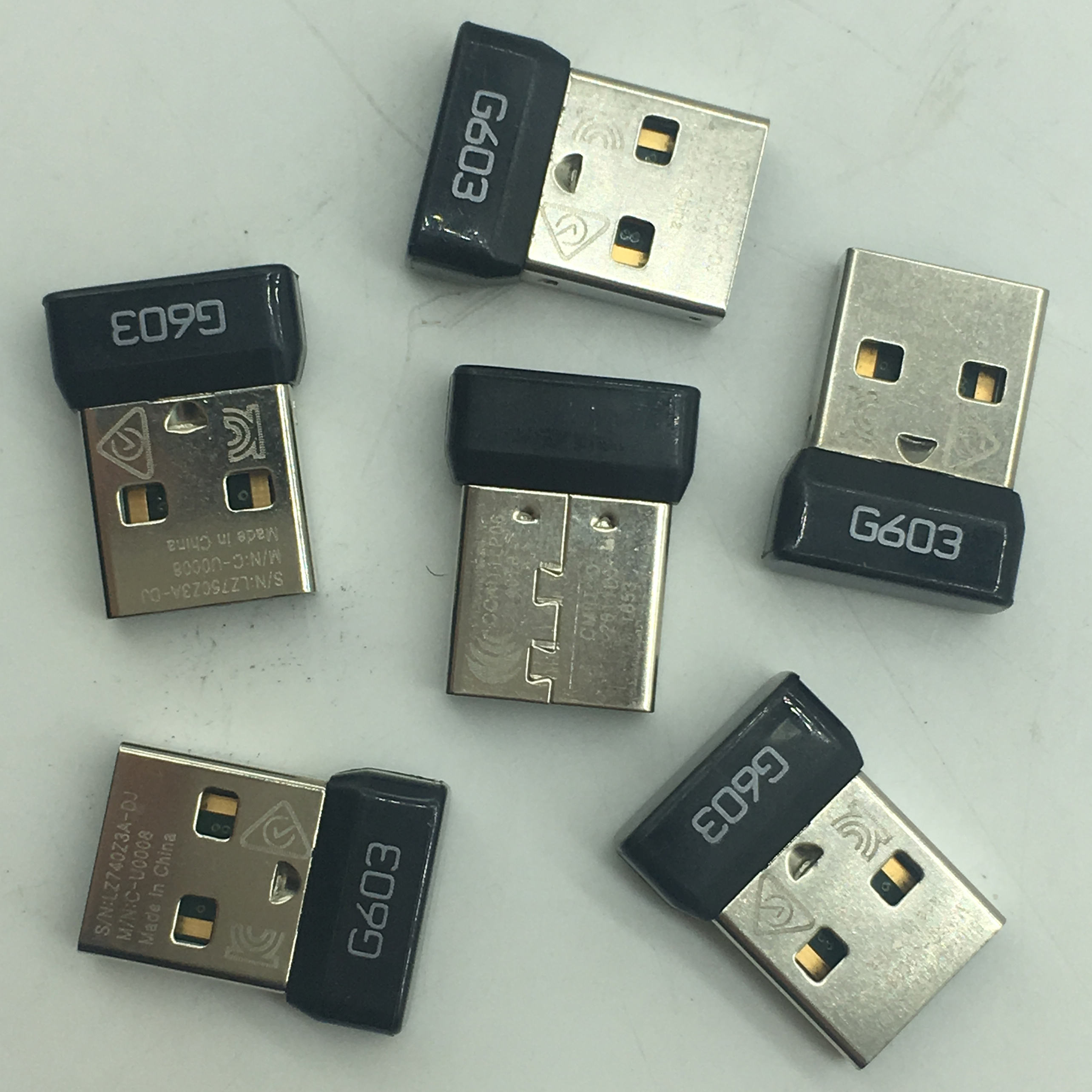 Logitech G603 Dongle Receiver Asli USB Receiver USB Bluetooth Receiver Adaptor untuk Logitech G603 Mouse Nirkabel Adaptor