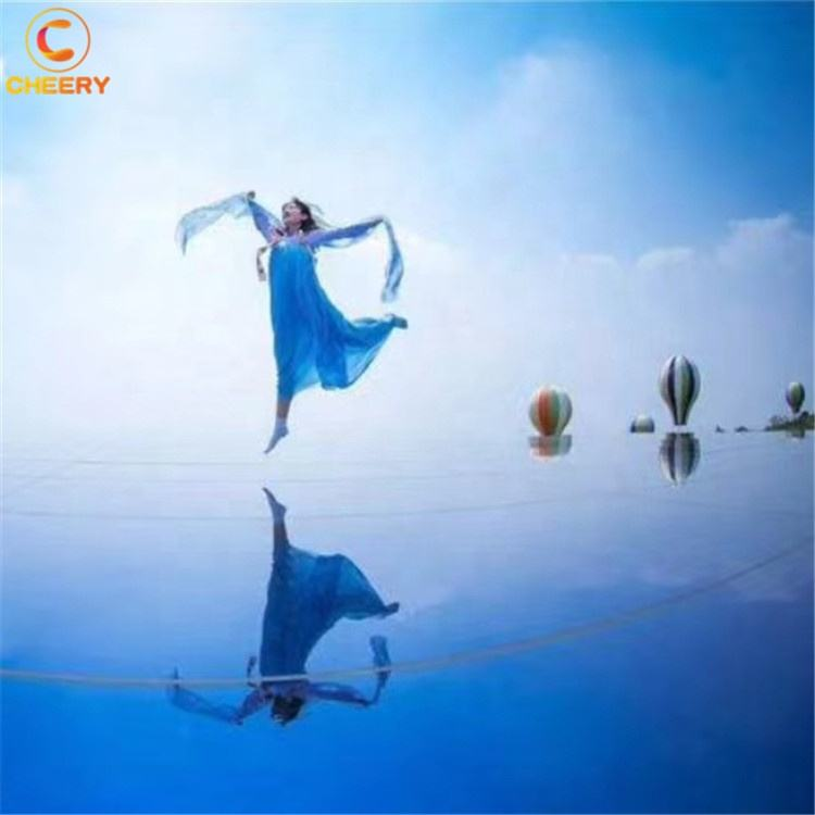 Scenic area playground outdoor amusement <span class=keywords><strong>park</strong></span> facility hotel wedding photography props scene sky mirror