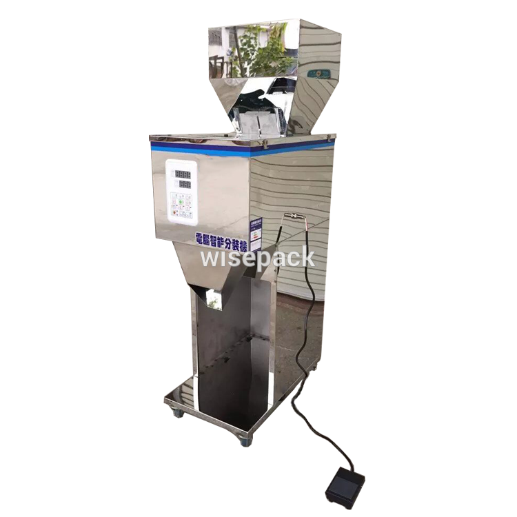 Auto table top small sachet dry powder filling machine