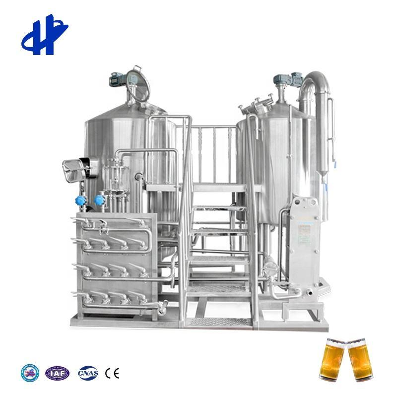 Brew Machine Turnkey Project Of Brewery 5Barrels Whole Set Brewery Equipment Beer Brewing From Shandong HG Machinery Co. Ltd