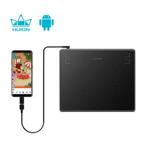 Shenzhen Factory HUION HS64 Battery Free Graphic 8192 Levels Tablet For Drawing