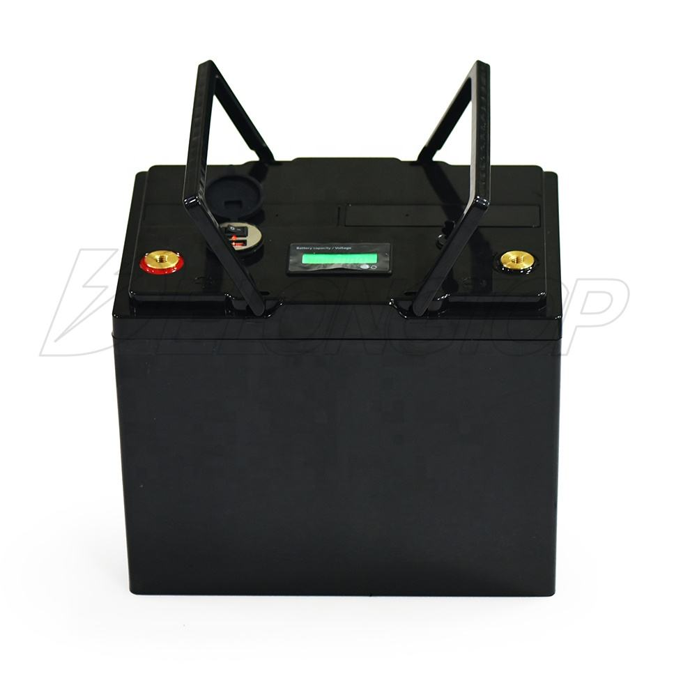 rechargeable 12v 50ah lithium iron phosphate battery LiFePO4 battery for solar panel/mobility scooter