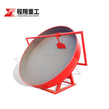 2-5mm granular automatic fertilizer disc granulator for sale