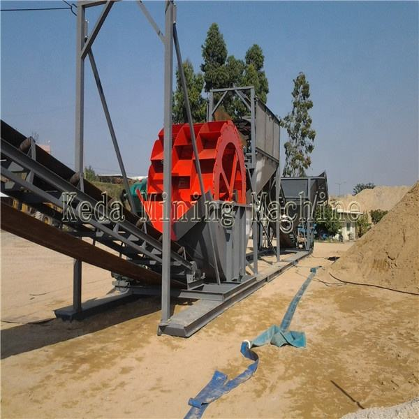 Sea Sand Desalting Machinery Sand Washer With No Pollution Supplied By Keda