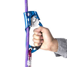 Arborist tree rigging rope left hand ascender for climbing