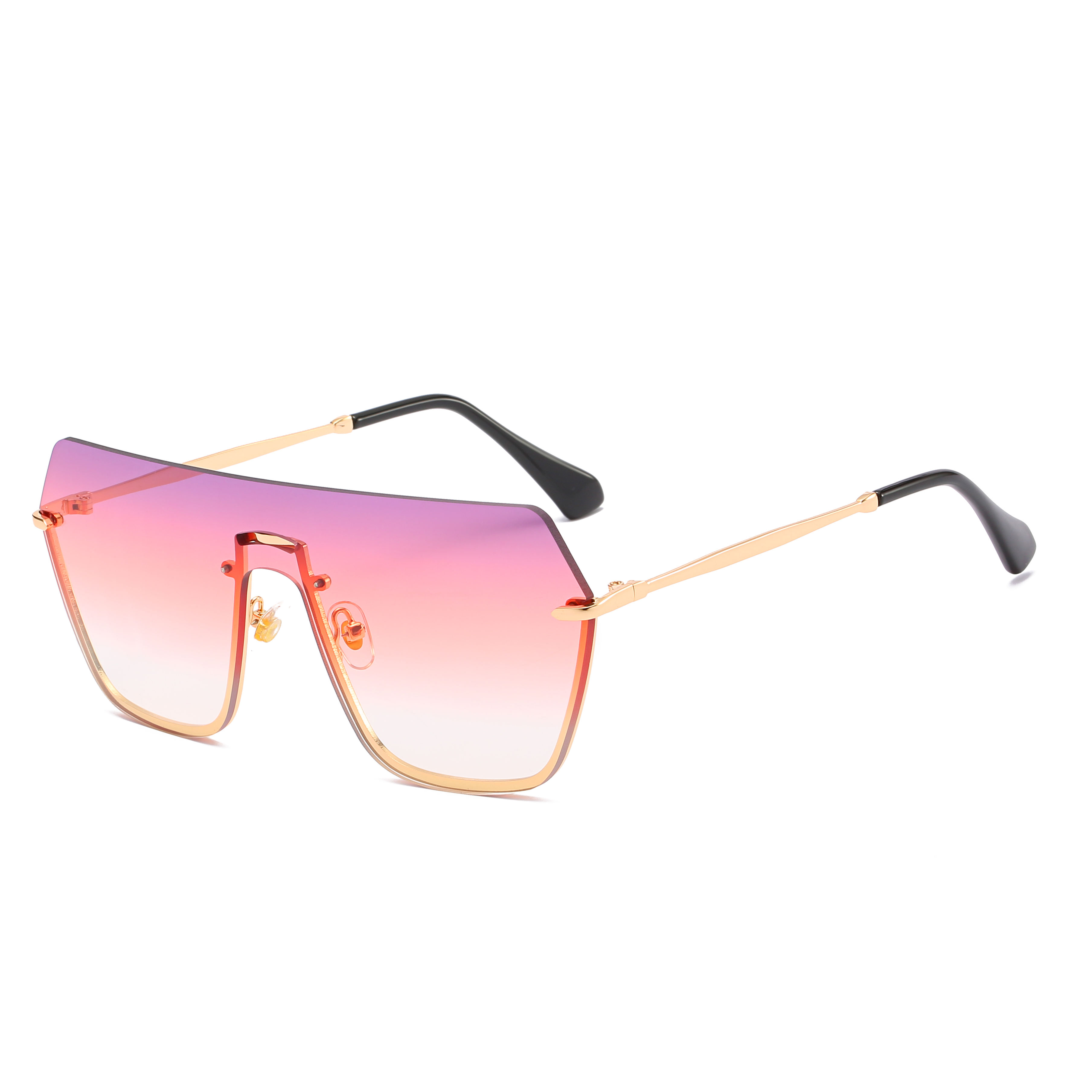 2020 Brand Designer Fashion Oversized Square Sunglasses Sun Glasses