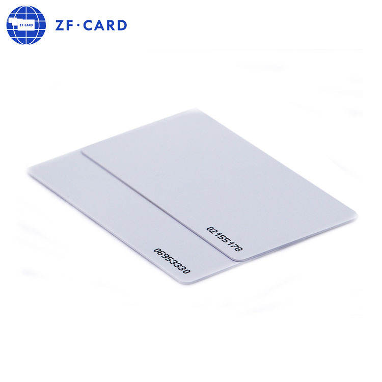 HF SRI512 formato carta di carta di credito contactless IC rfid chip di bianco in bianco smart card IN PVC