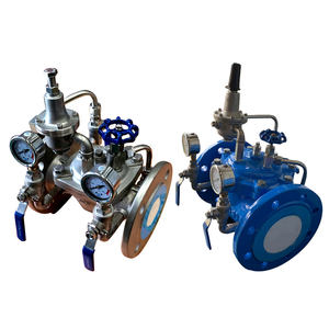 pressure relief sustaining valve