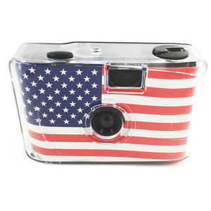 Film camera Cheap Cute Reusable LOMO 35mm Film Camera promotion gift American flag