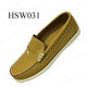 YYN, high level full leather peas shoes shoes with handmade stitching rubber sole slip on boat HSW031