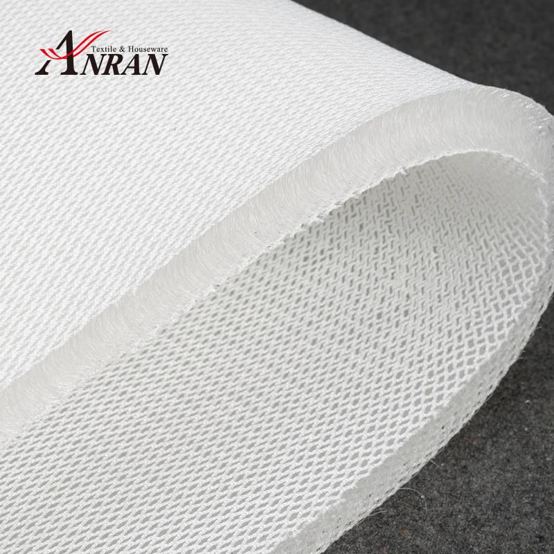 20MM de espesor 3D espaciador Material de tela de malla de 205CM de ancho, tapicería