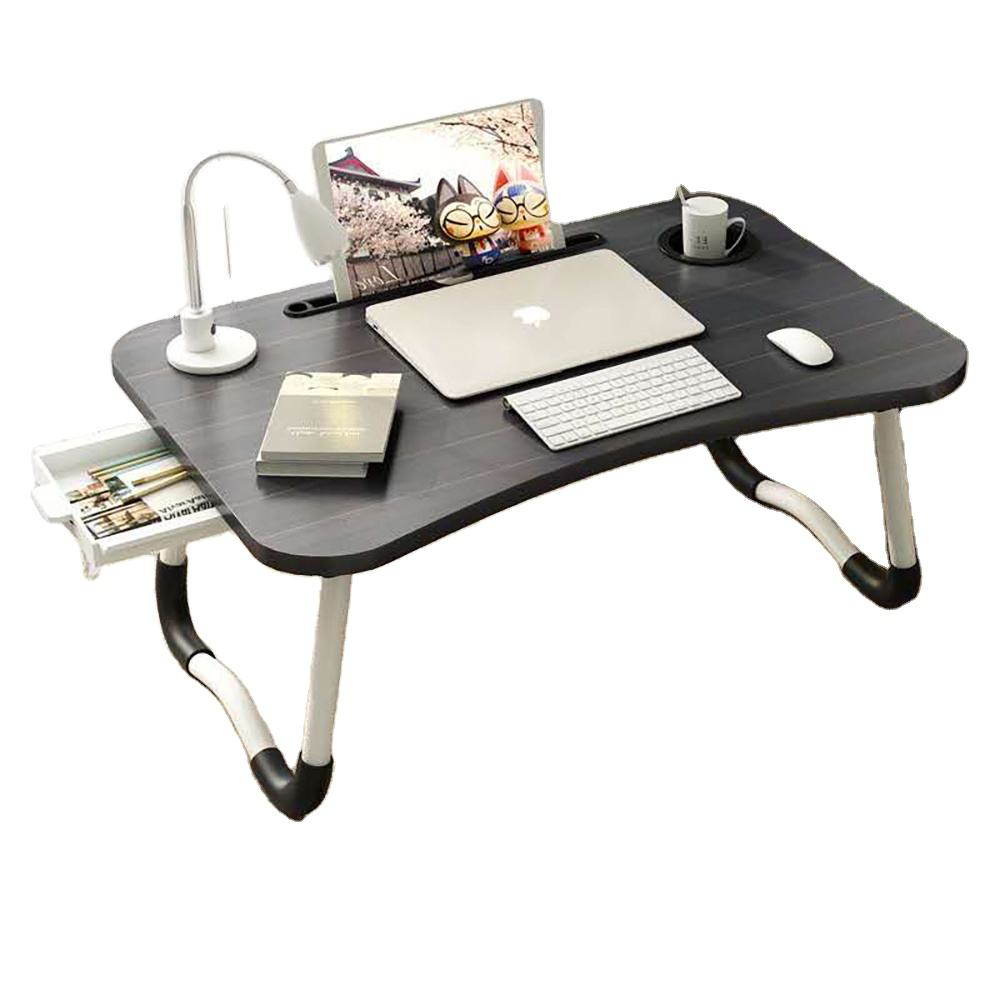 Foldable Bed Tray Laptop Stand Folding Laptop Table Computer Desk