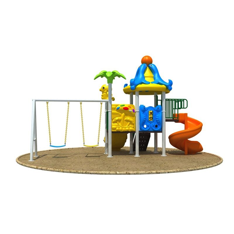 Commercial Outdoor Equipment Large Pipe Slide Toys Set Outdoor Children Plastic Slide for Sale