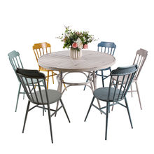 Garden Camping Antique Retro Table Patio Furniture Vintage Retro Industrial Furniture Tables Chair Sets