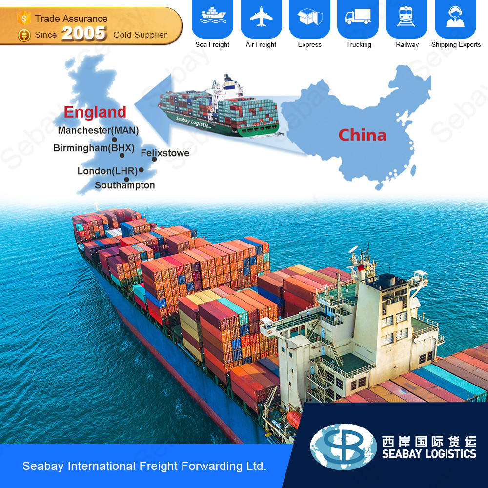 sea freight from shanghai to uk