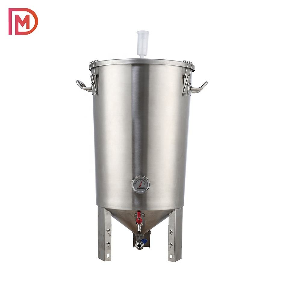 Home brewing equipment/ 30L Conical Fermenter /guten for brewery/ 304 Stainless steel