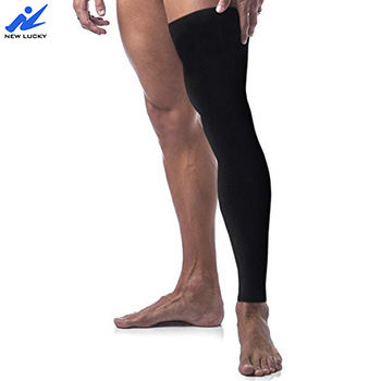 Men And Women Copper Knee Support Long Compression Sleeve For Sports