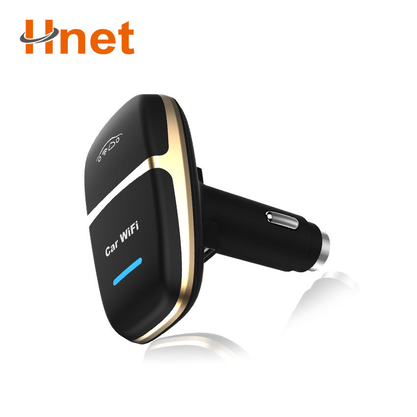 Car wifi 4g router with double USB interface portable 4g lte hotspot router