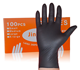 2020 CE disposable Natural Latex Medical Examination nitrile gloves blue Black disposable nitrile gloves Black nitrile gloves