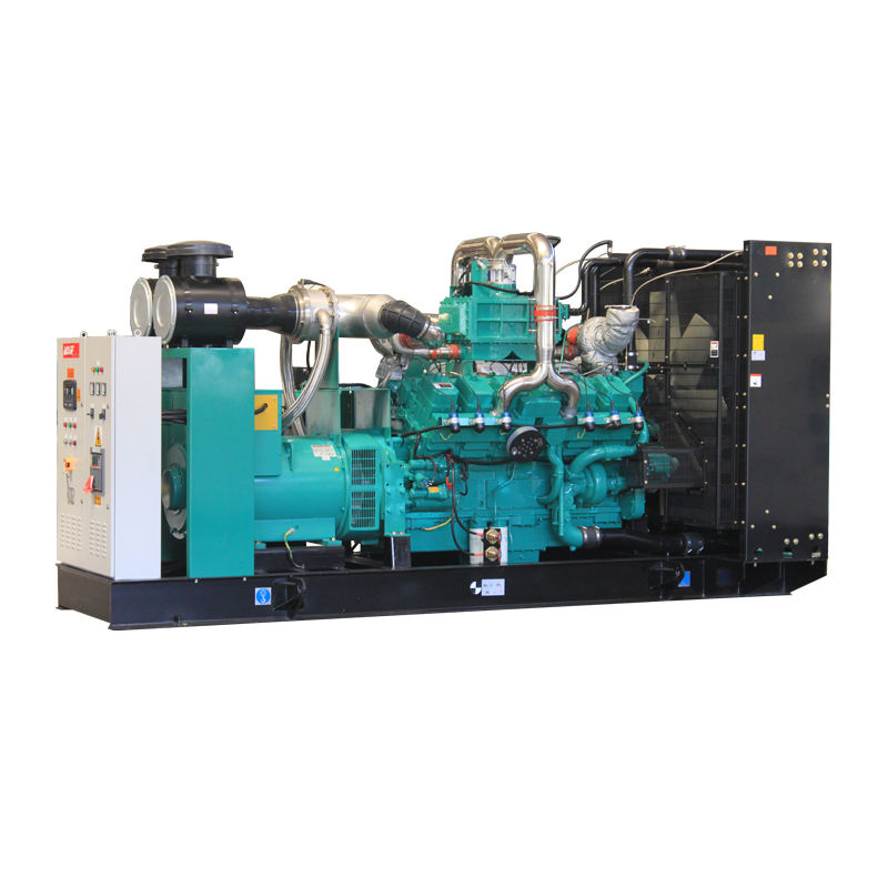 ISO CE certified 300KVA 400KVA 500KVA with cummins Gas Turbine Generator